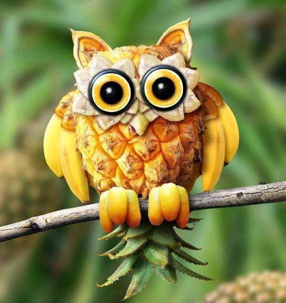 Поделки из ананаса своими руками